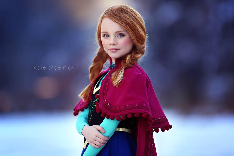 Frozen thema shoot inspiratie Katie Andelman - Blog