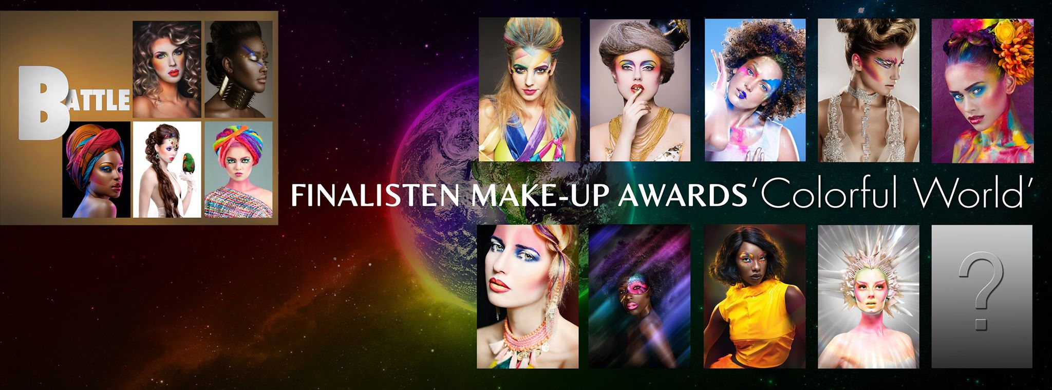 Foto op de site van de Make up awards - Blog Carine Belzon Fotografie