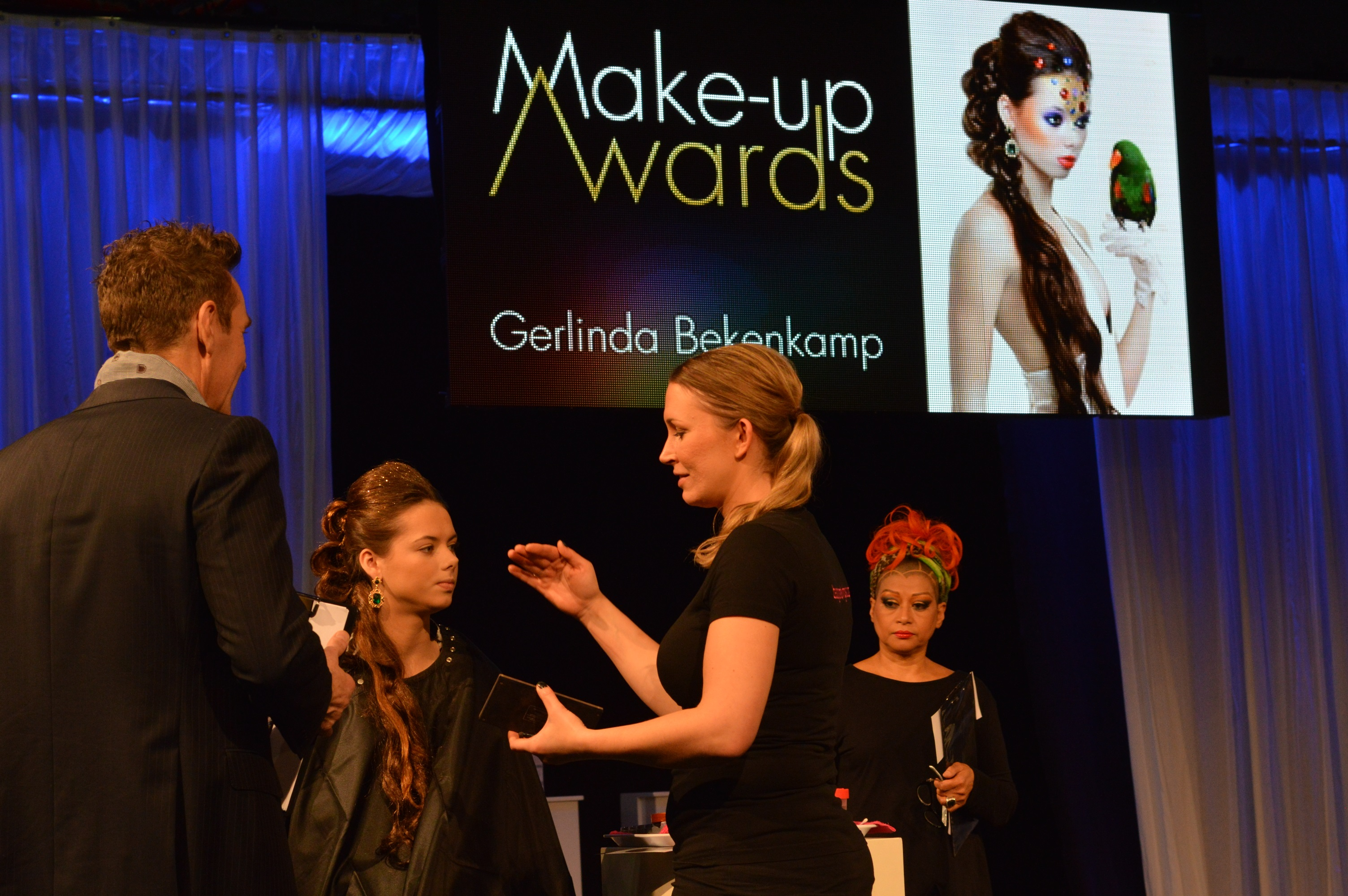 Ook nog even in beeld tijdens de make up awards - Blog Carine Belzon Fotografie